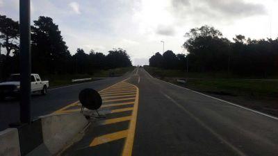 Ruta 88: las obras de colectoras en Batán finalizarán en diciembre