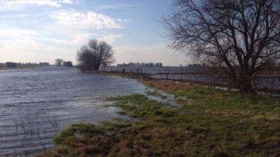 El agua no da tregua: declaran la emergencia hídrica en seis distritos
