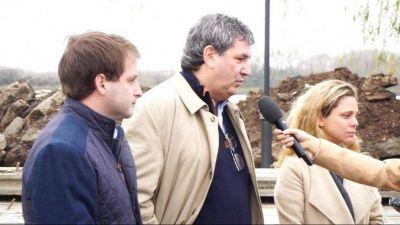 Ministro bonaerense respaldó a candidatos en suelo opositor