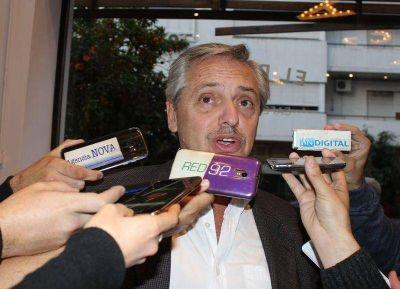 Alberto Fernández en La Plata: ninguneado por CFK y Macri, el randazzismo dispara para todos lados