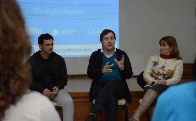 Guillermo Santellán presentó sus propuestas en educación