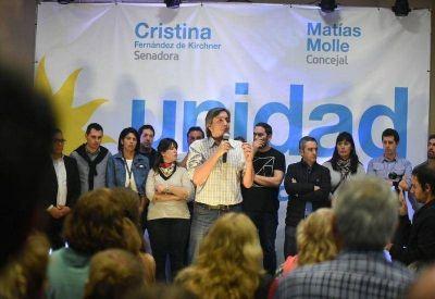 Máximo Kirchner, en San Fernando: