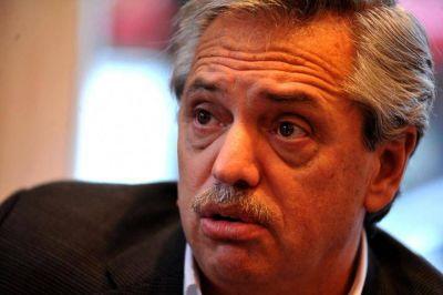 Con críticas al gobierno de Macri, Alberto Fernández pasó por La Plata