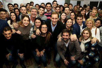 Garro le pone el hombro a la campaña de Cambiemos en La Plata