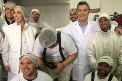 Macri, Vidal, Bullrich y Ocaña, juntos en un acto en Tandil