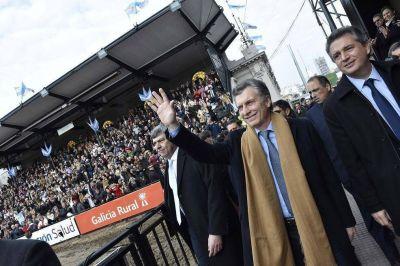 Macri encabezará el acto de apertura de la Exposición Rural