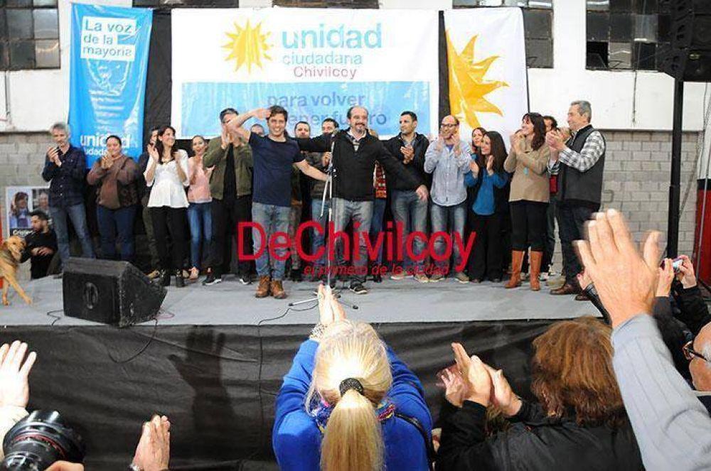 """Kicillof en Chivilcoy: """"Macri hoy festeja en la Rural como si todos fuéramos dueños del toro campeón y no lo somos"""""""