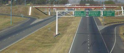 Desde el martes, la provincia toma las riendas de la autopista Santa Fe-Rosario