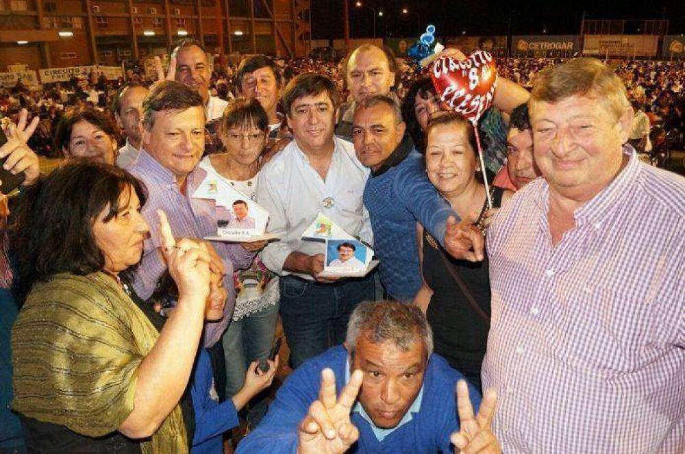 """Peppo reivindicó el trabajo de la militancia como """"la base del triunfo peronista"""""""