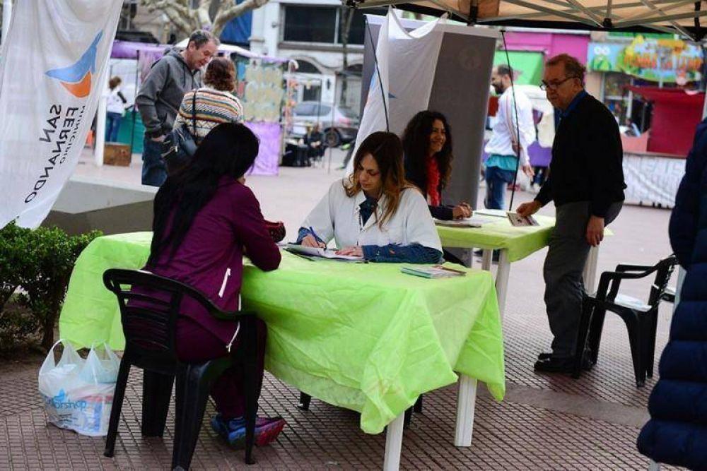 El Municipio en tu Barrio se sumó al Día Mundial de la Hepatitis B