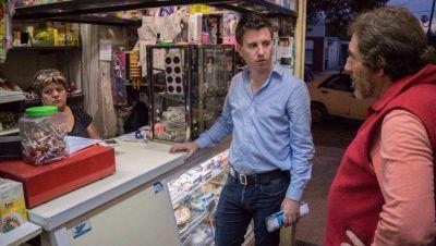 Federico Martelli visitó San Carlos: vecinos lo convocaran por redes sociales