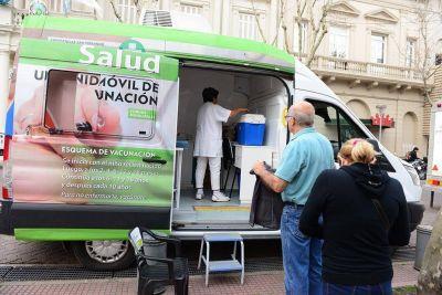 El 'Municipio en tu Barrio' se sumó al Día Mundial de la Hepatitis B