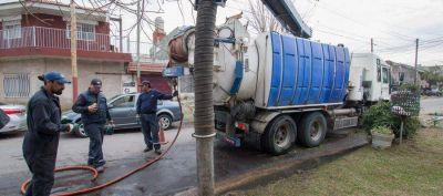 Se realizó un nuevo operativo de limpieza y bacheo en Villa Besada