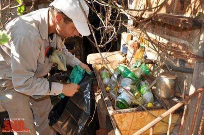 Salud convocó a municipios a descacharrar en invierno