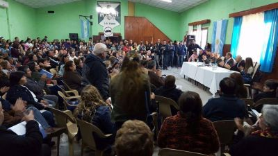 Adolfo Rodríguez Saá recibió 51 proyectos para el crecimiento de La Toma