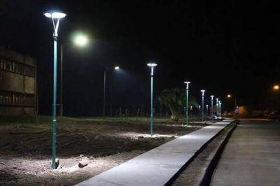 Bucca inauguró obras en barrio Anteo Gasparri