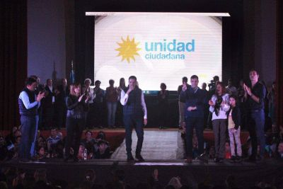 Unidad Ciudadana presentó a sus precandidatos a concejales en La Costa