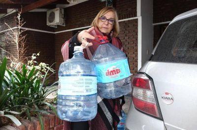Llevan 5 días sin agua en un barrio de San Carlos