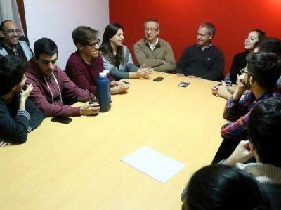 """Artime, Morea y Branderiz: """"Tomamos 6 compromisos con los estudiantes"""""""