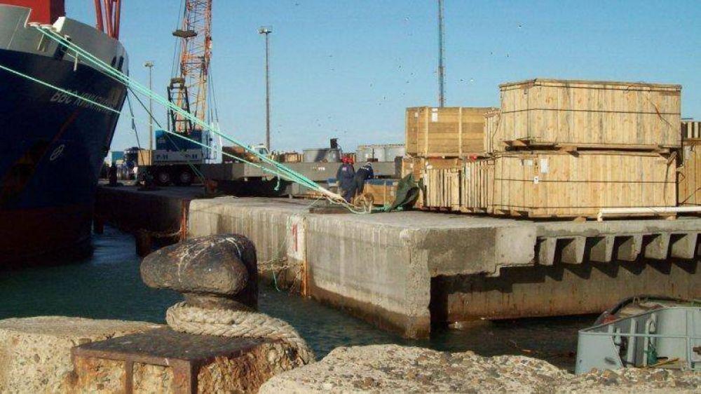 Los reembolsos por puertos patagónicos se tratan el 16