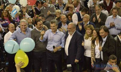Macri respaldó a los candidatos, habló de reducción impositiva y pidió la Ley de ART