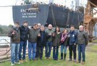 La Plata: Candidatos de CUMPLIR recorrieron Astilleros