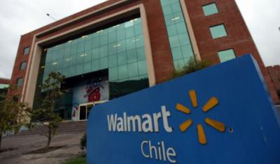 En Walmart Chile van al paro