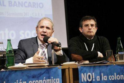 La Seccional Tucumán de La Bancaria dió una contundente muestra de apoyo a la conducción de Palazzo y Cisneros