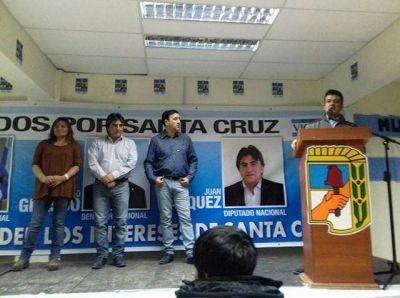 Candidatos del FPV realizaron un acto en Puerto Deseado