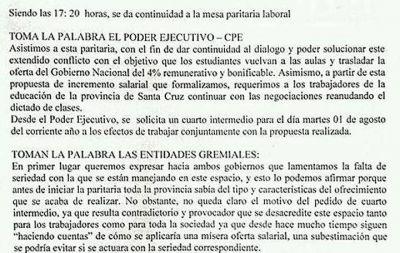Un propuesta que ambos gobiernos sabían que iba a fallar ¿Qué buscan Macri y Alicia?