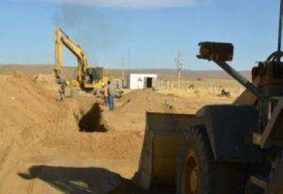 Sostenido avance en las obras de nuevas tomas y aducción de agua en La Quiaca