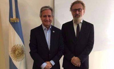 Luenzo se reunió con el ministro de Modernización de la Nación por el Plan Patagonia