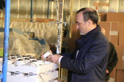 El ministro de Industria corrió las instalaciones de Foxman Fueguina