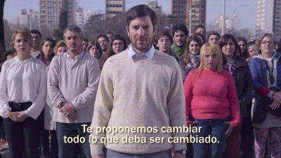 Amoretti y Presa lanzaron el nuevo spot de campaña Vamos de cara a las PASO