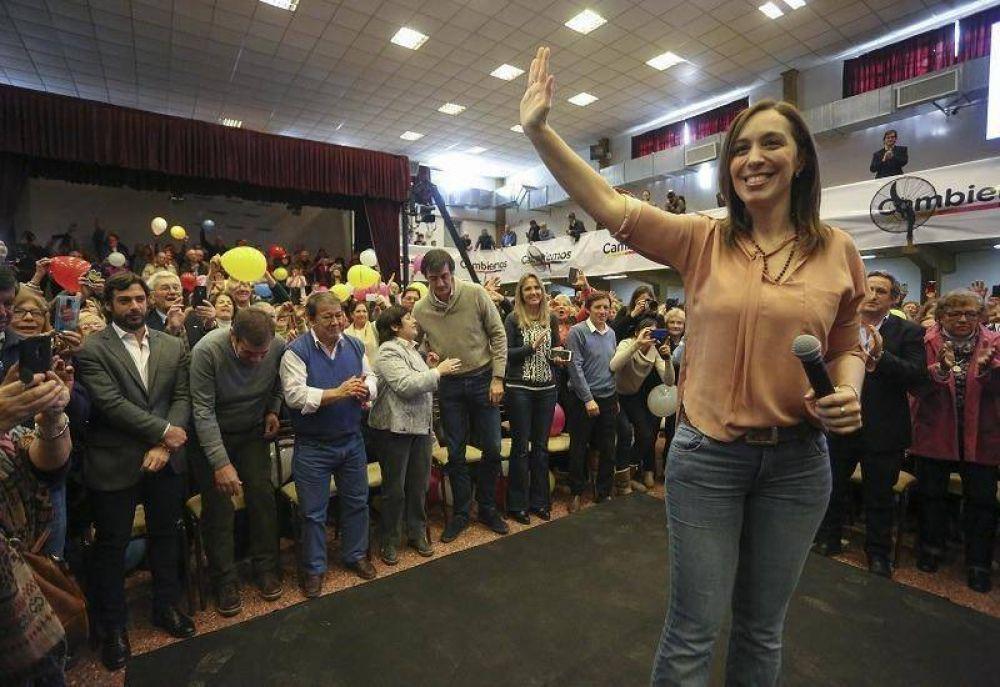 Desde San Miguel, Vidal le pidió a los votantes que