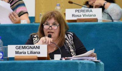 Gemignani, una legisladora de JSRN contra la central  nuclear
