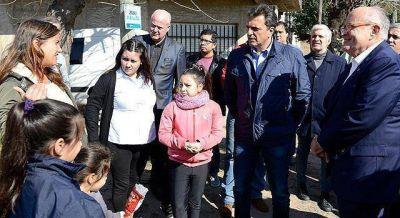 En La Matanza, Massa volvió a poner el foco en la inseguridad