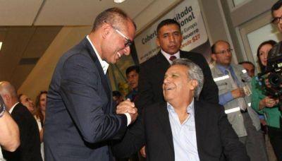Crisis en el gobierno ecuatoriano: Lenin suspendió de sus funciones al vicepresidente Glas