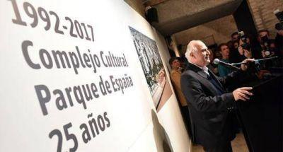 Lifschitz, en los 25 años del Complejo Cultural Parque España