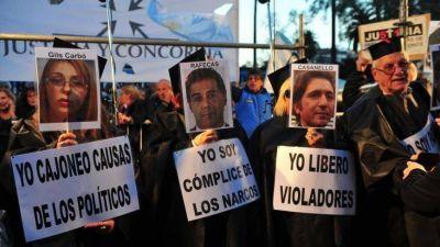 Campaña caliente: Cambiemos se subió a la marcha contra la corrupción kirchnerista