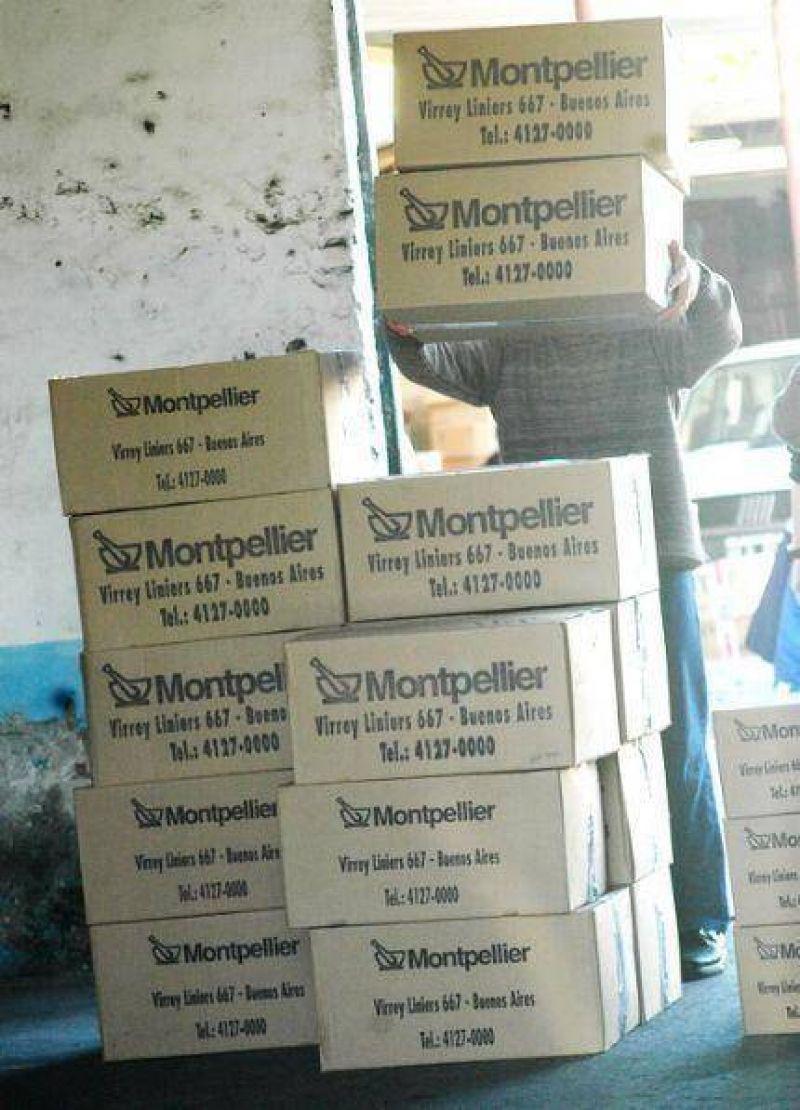 El Laboratorio Montpellier afirmó que no tiene ningún depósito en la Ciudad Feliz