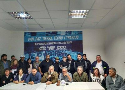 La UOLRA convoca a la movilización en Capital Federal para pedir:
