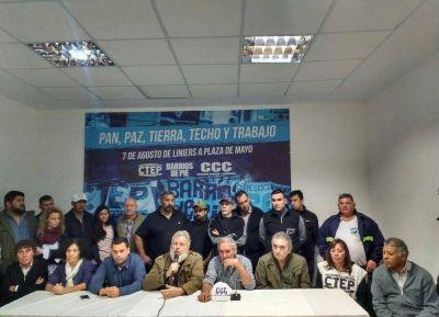 La UOLRA convoca a la movilización en Capital Federal para pedir: