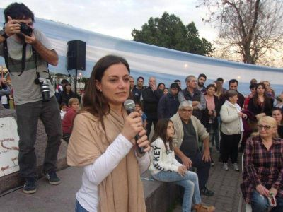 Se presentó la lista 4 del Frente Unidad Ciudadana Berisso