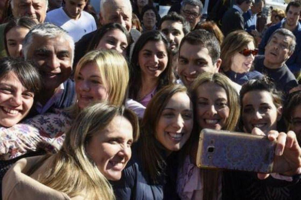 Con mensajes anti PJ, Vidal y Cambiemos enfocan su campaña en el interior provincial