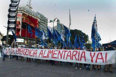 La oposición se une para sancionar la emergencia alimentaria
