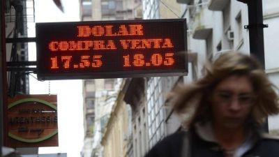 Dólar domesticado: en la semana bajó siete centavos a $ 17,94