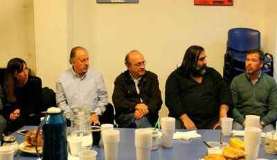 Yasky y Moreau estuvieron en Mar del Plata con candidatos de Unidad Ciudadana