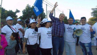 Libertador recibió con los brazos abiertos a Rivarola