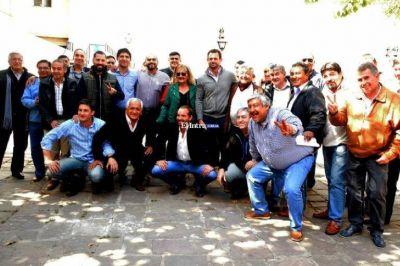 Pino Paz Posse y José Urtubey se reunieron con las 62 Organizaciones Peronistas